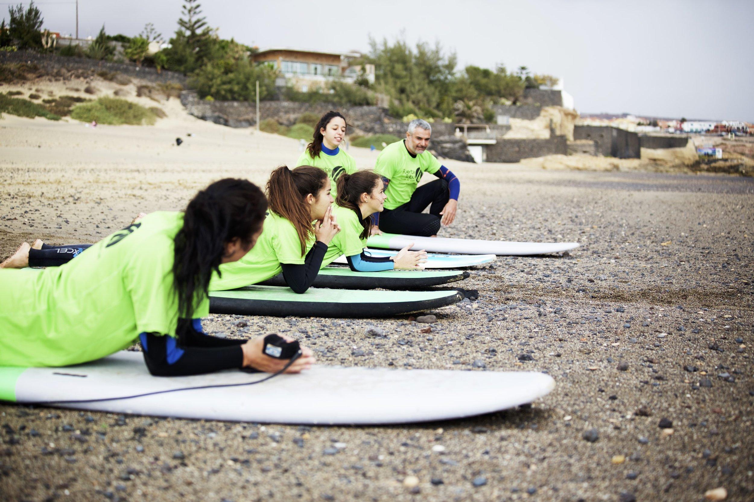 Surf familiar | Family Surf- Fuerte Tribu