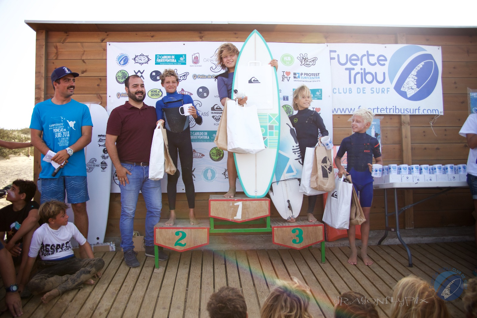 PREMIOS SUB 12 CIRCUITO CANARIO DE SURF FUERTEVENTURA