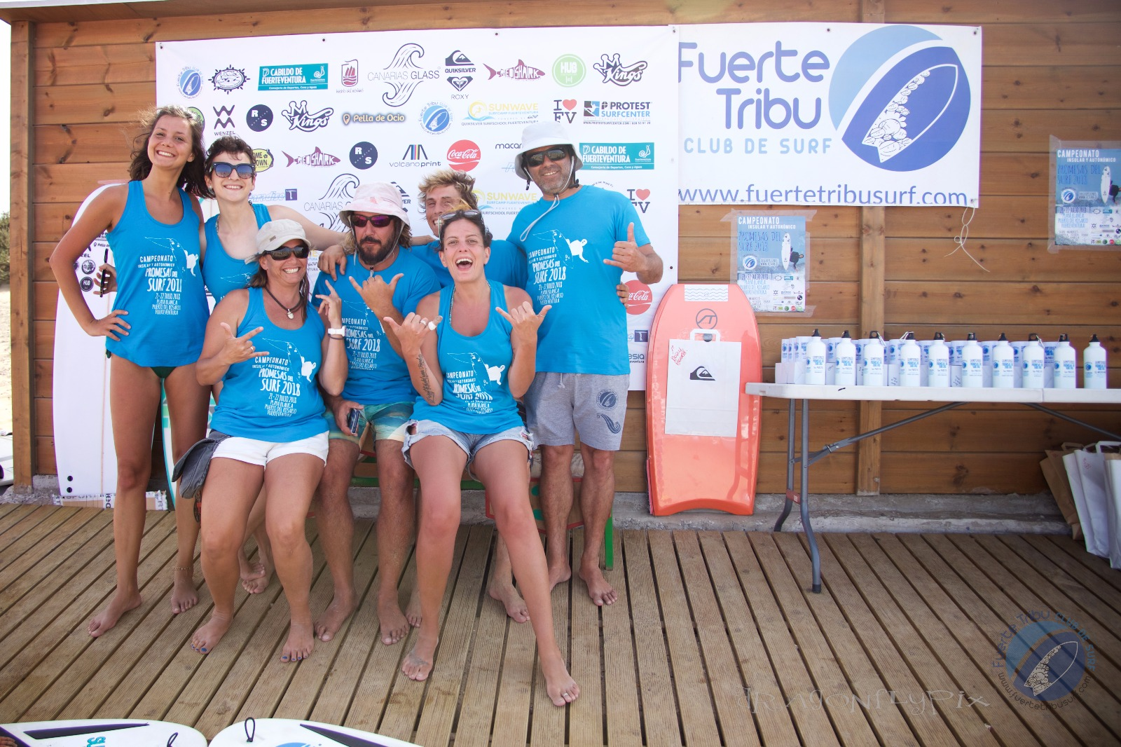 CIRCUITO CANARIO DE SURF Y FUERTE TRIBU SURF