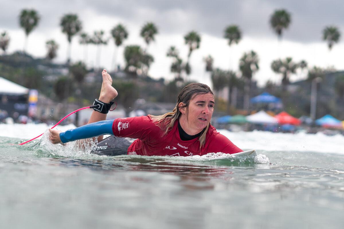 ESP - Melissa Reid. FOTO: ISA / Sean Evans