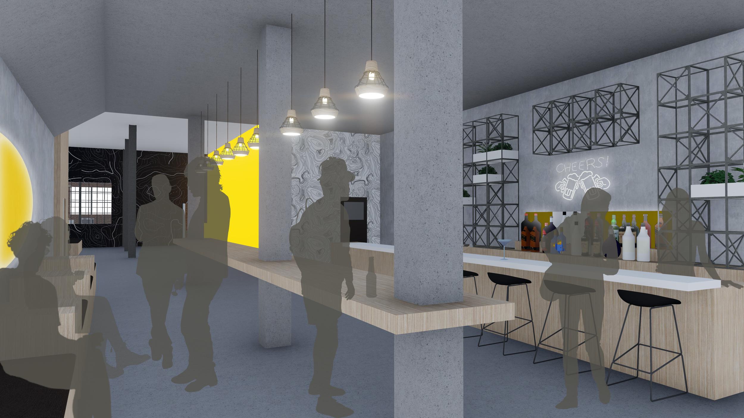 Community bar on Level 1