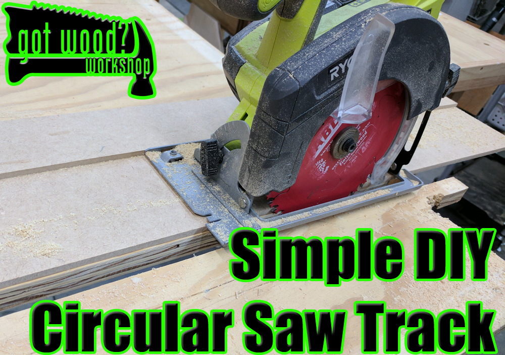 Simple DIY Track for your Circular Saw