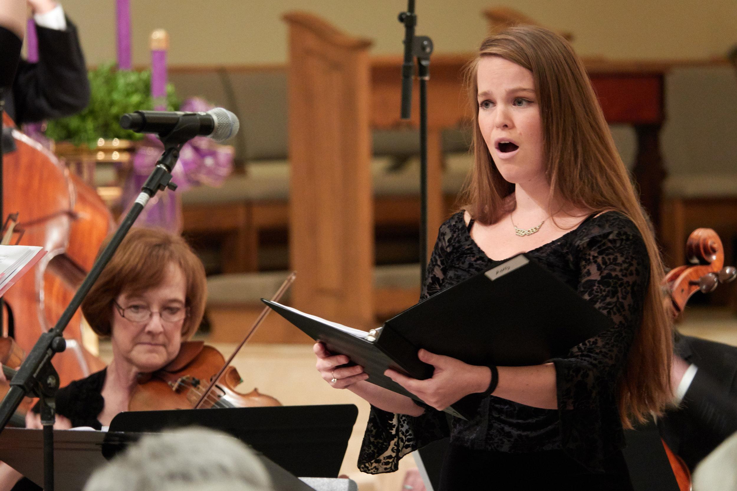 Kelly Curtin, soprano