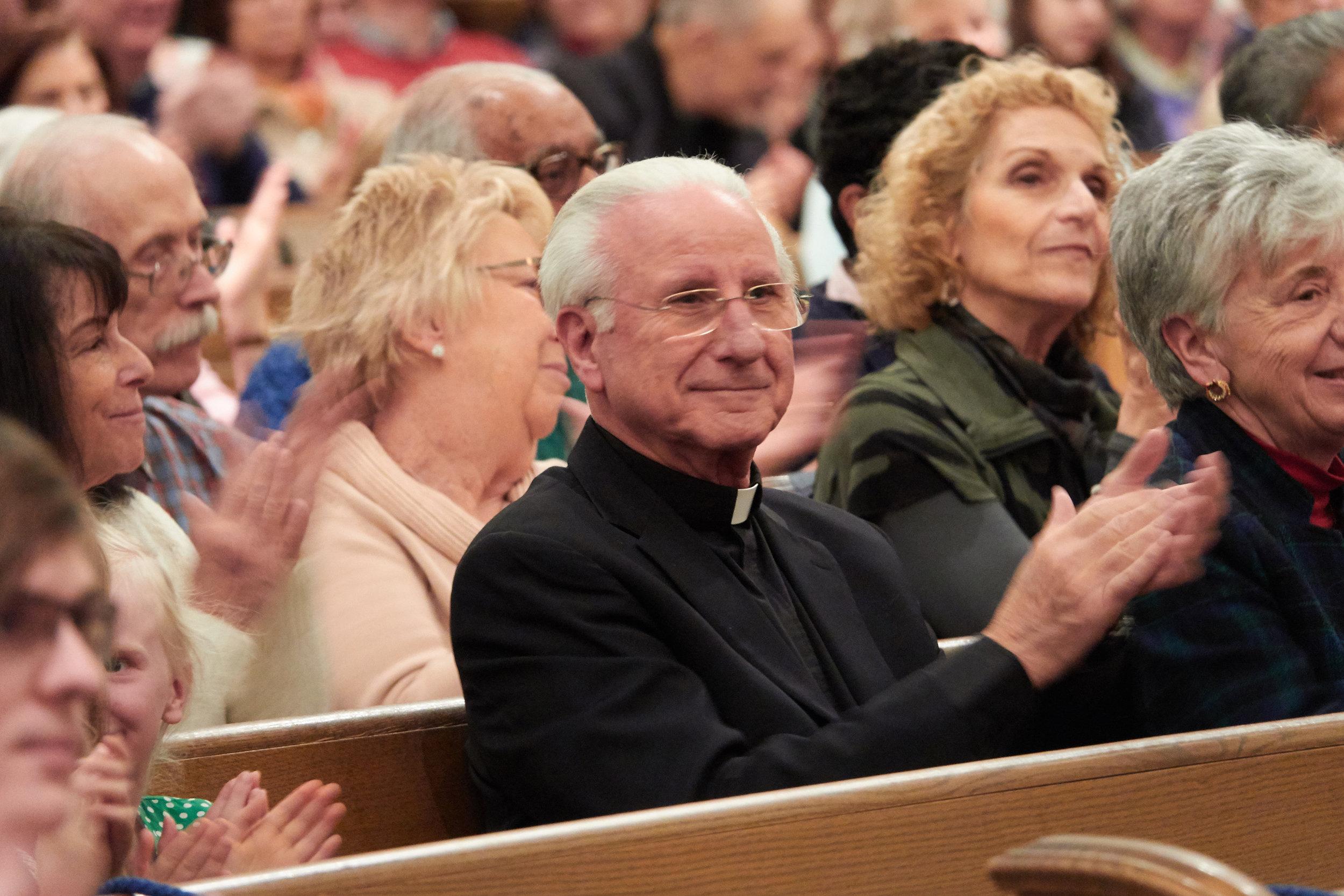 Msgr. Joseph Luca, our pastor