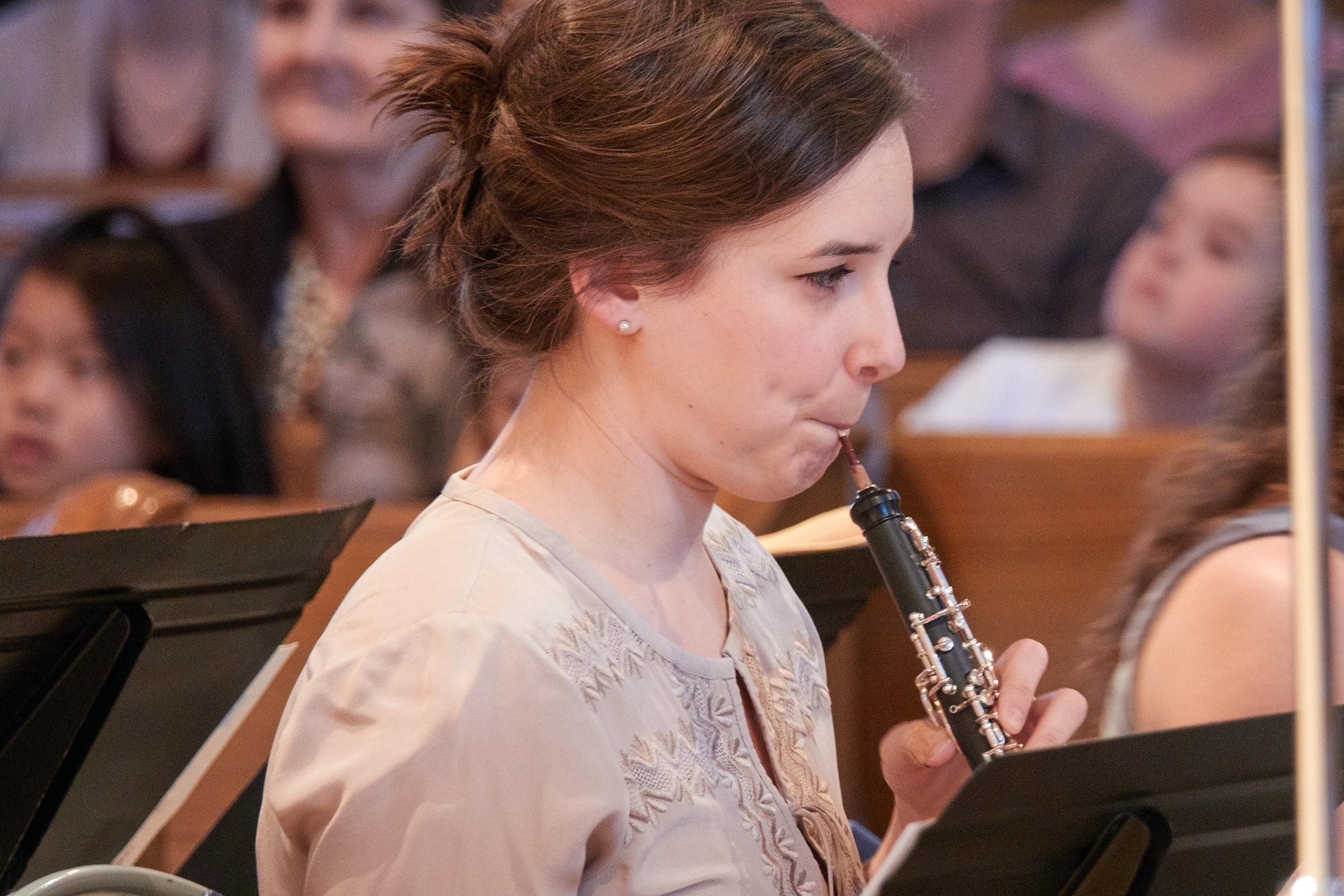 Emily Foster, oboe