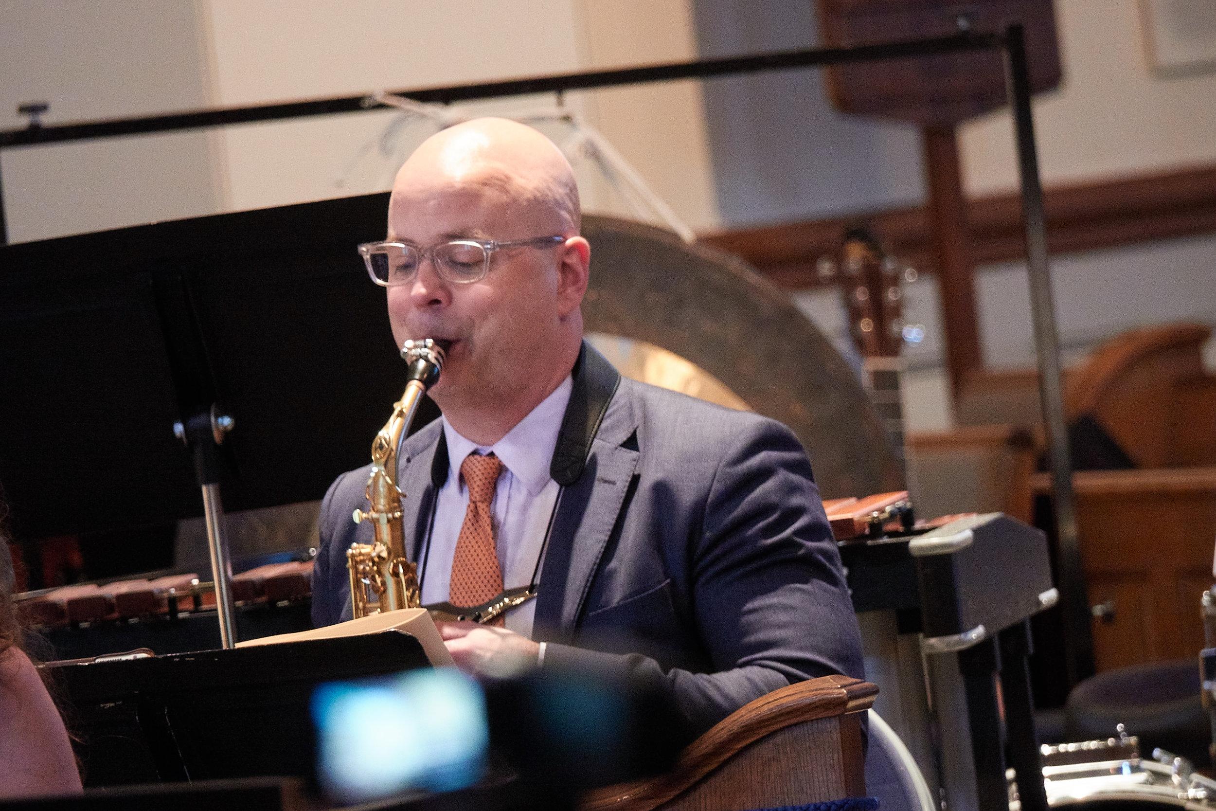 Jeremy Koch, saxophone