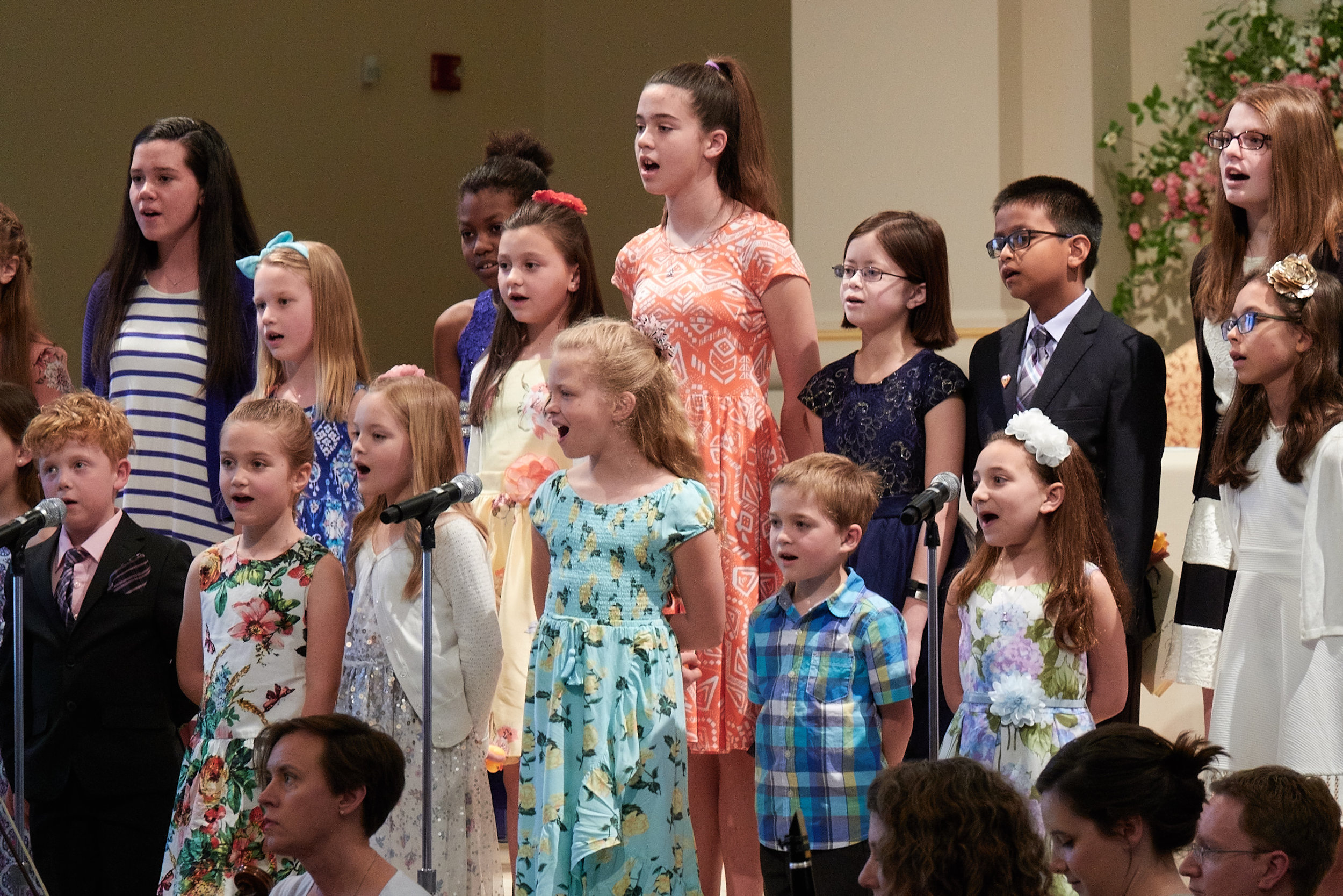 Young singers perform a PBS medley.