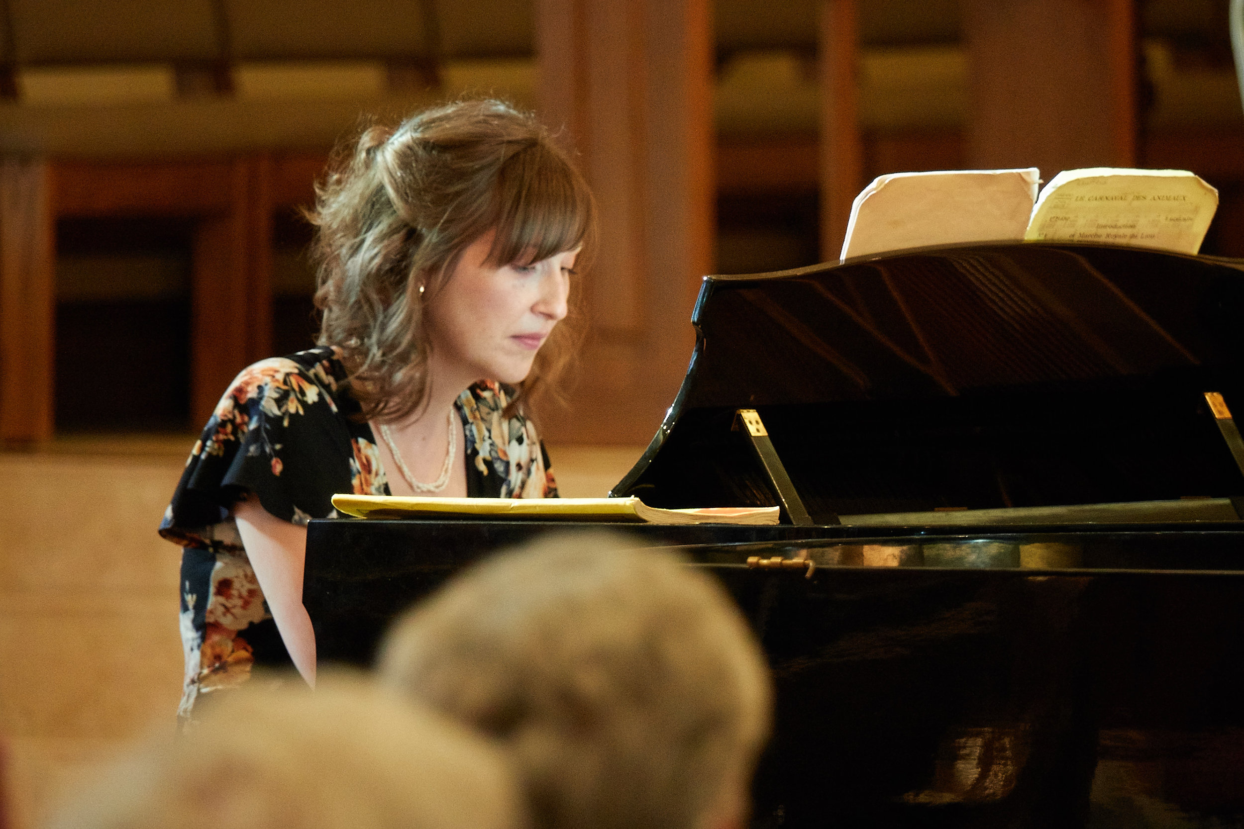 Heather Adelsberger, piano, and ...