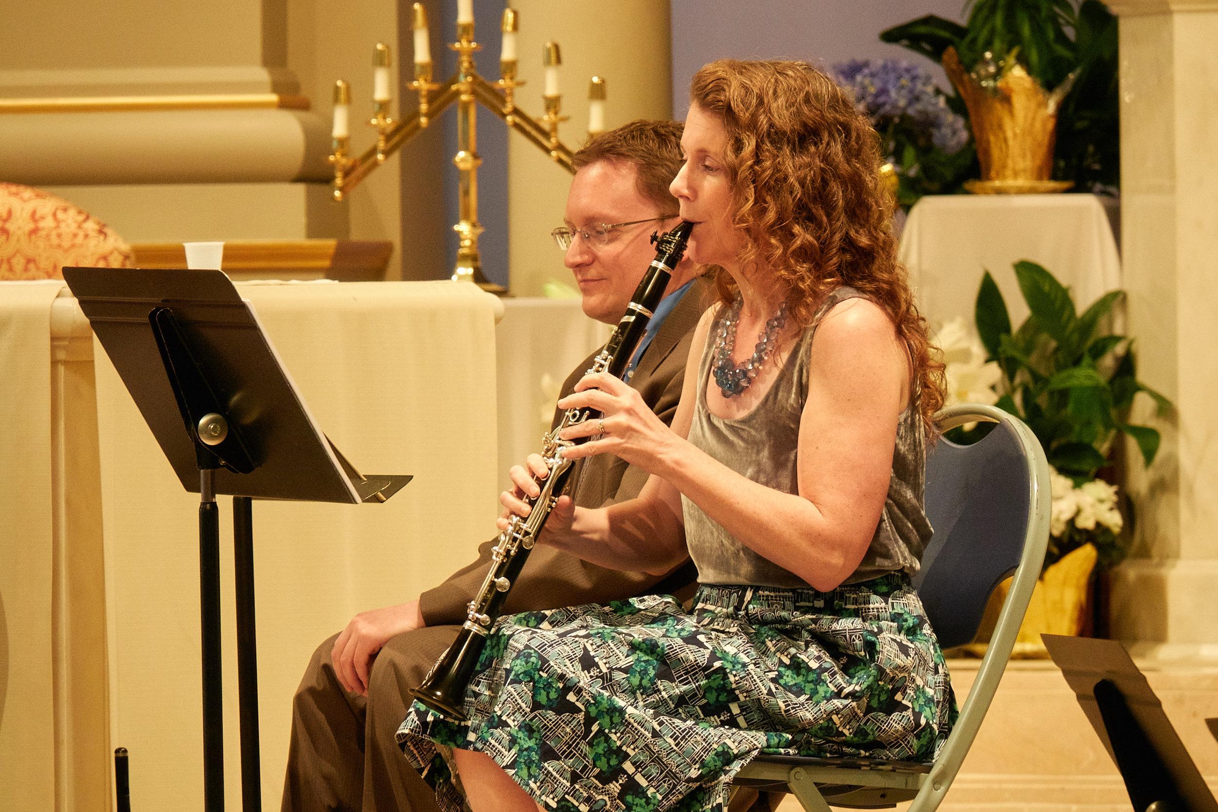 Brooke Emery, clarinet