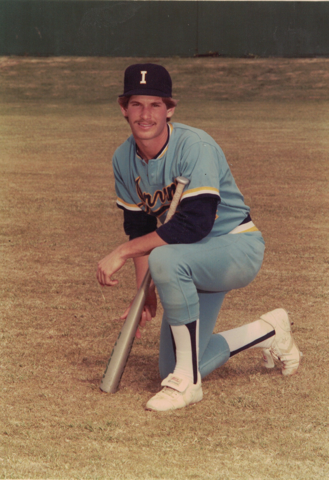 Mike's college days playing baseball for uc irvine. Picture from 1983.