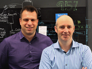 Founders: Jezz Santos (left)and Andrew Kissling (right)