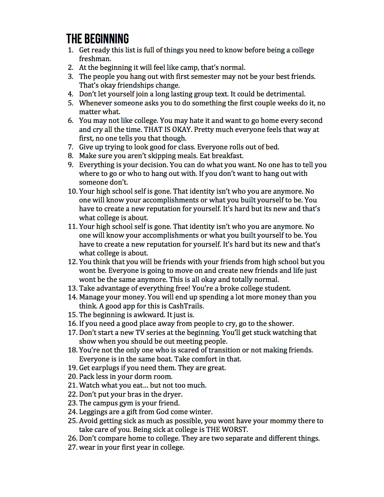 100 things for frehsman 2.jpg