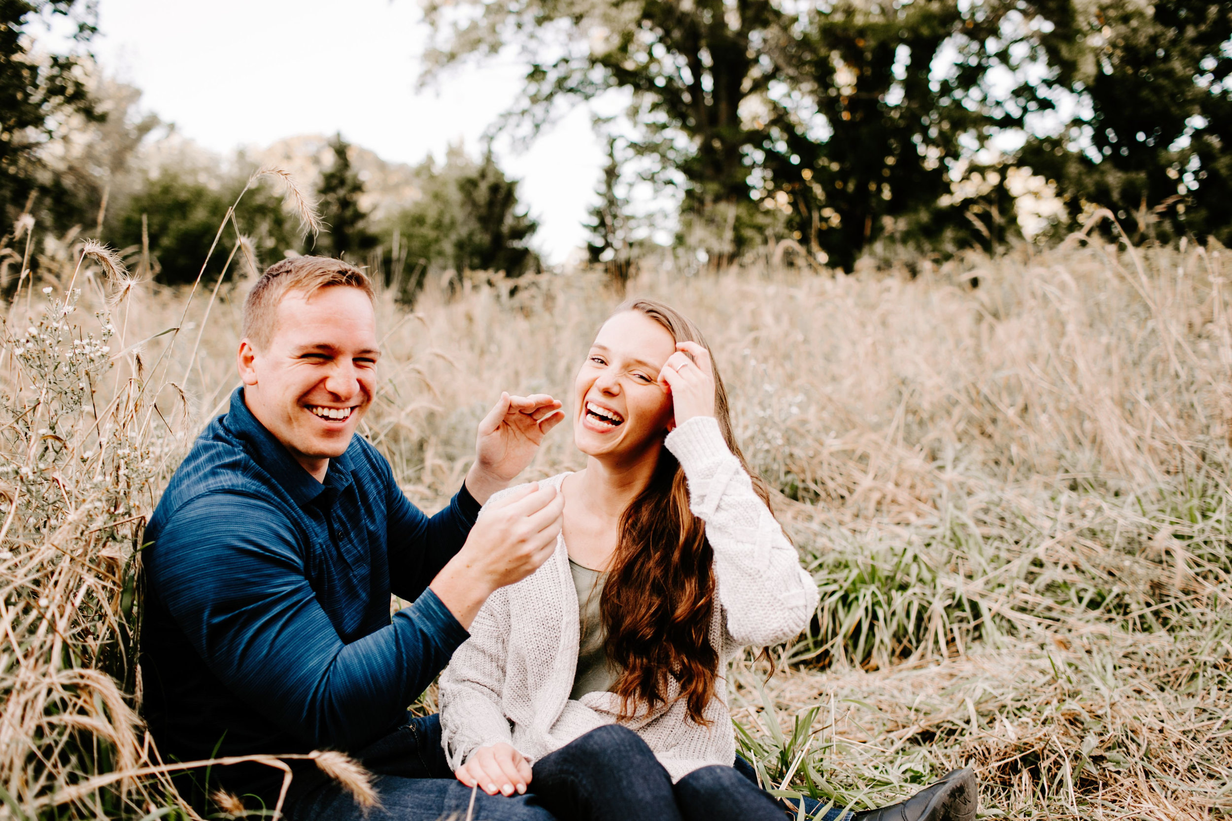 Kelsey and Eric Engagement Session at Holliday Park in Indianapolis Indiana by Emily Elyse Wehner Photography LLC (49).jpg