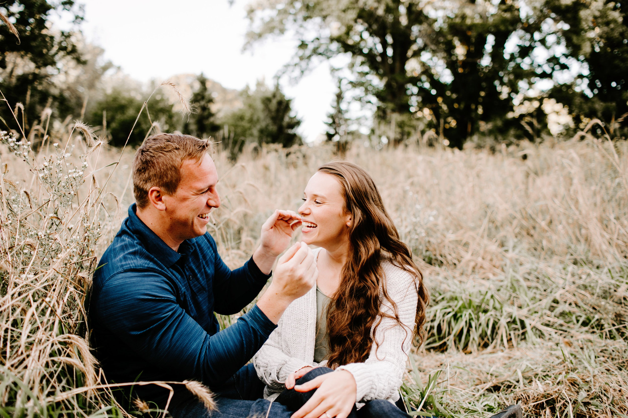Kelsey and Eric Engagement Session at Holliday Park in Indianapolis Indiana by Emily Elyse Wehner Photography LLC (55).jpg