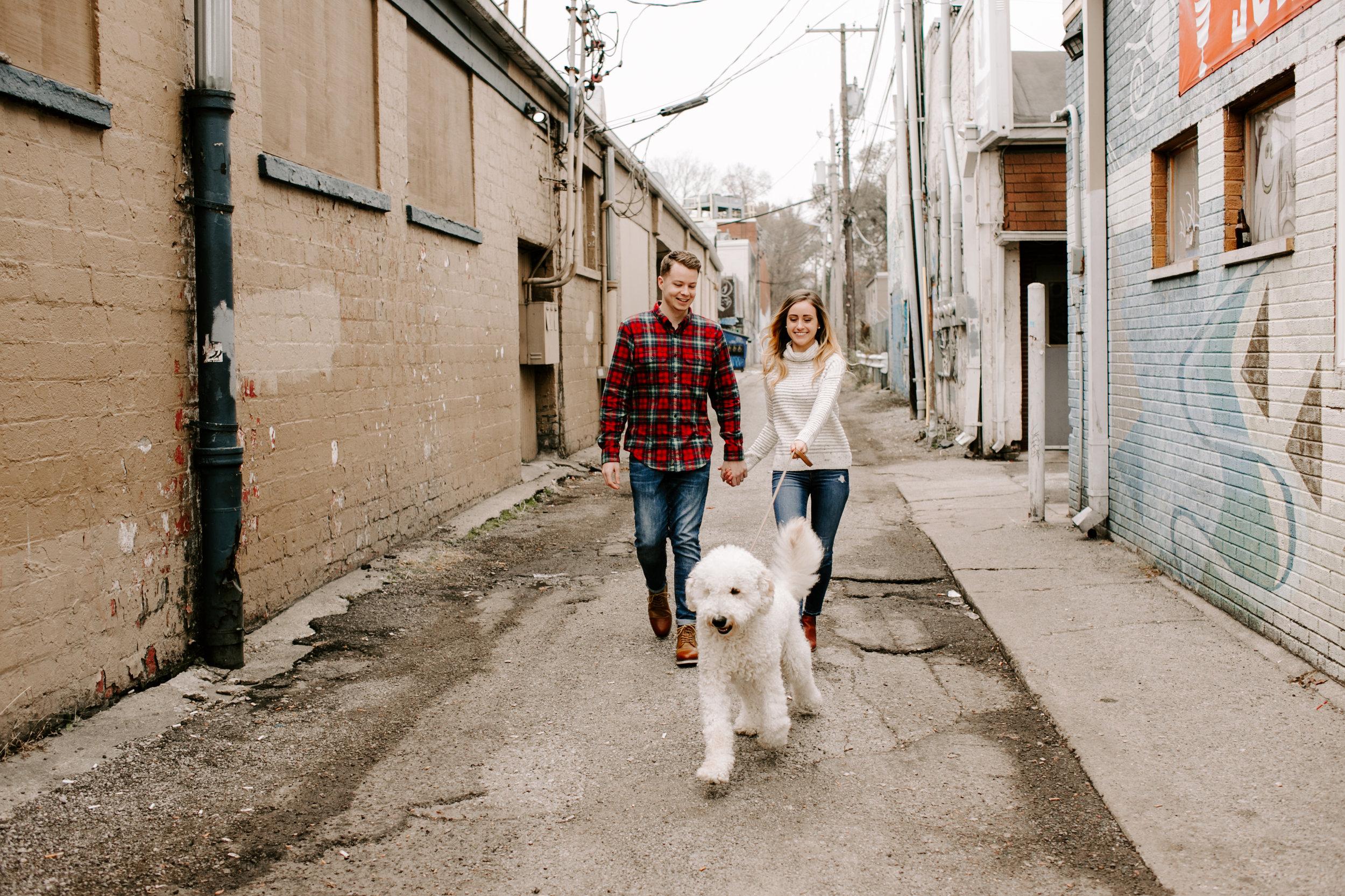 Hallie and Tyler Couple Photos downtown Broad Ripple Indiana Emily Elyse Wehner Photography LLC-35.jpg