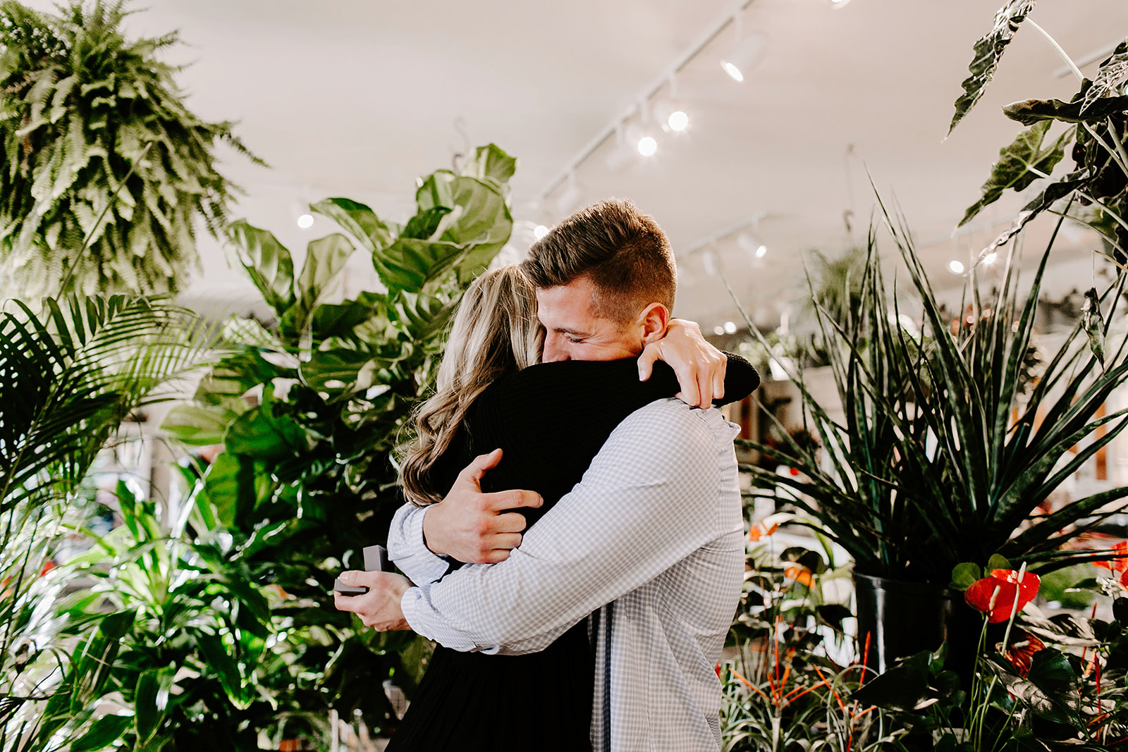 Lindy and JT Proposal at Allisonville Nursery in Indianapolis Indiana by Emily Elyse Wehner Photography LLC-45.jpg
