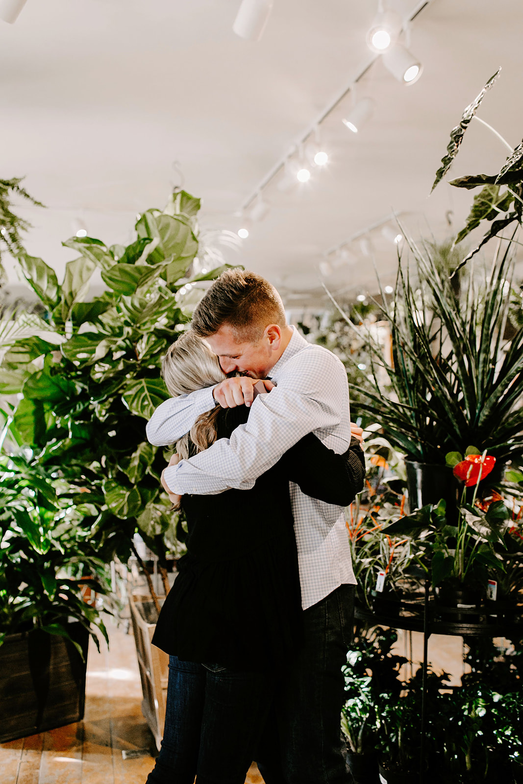 Lindy and JT Proposal at Allisonville Nursery in Indianapolis Indiana by Emily Elyse Wehner Photography LLC-57.jpg