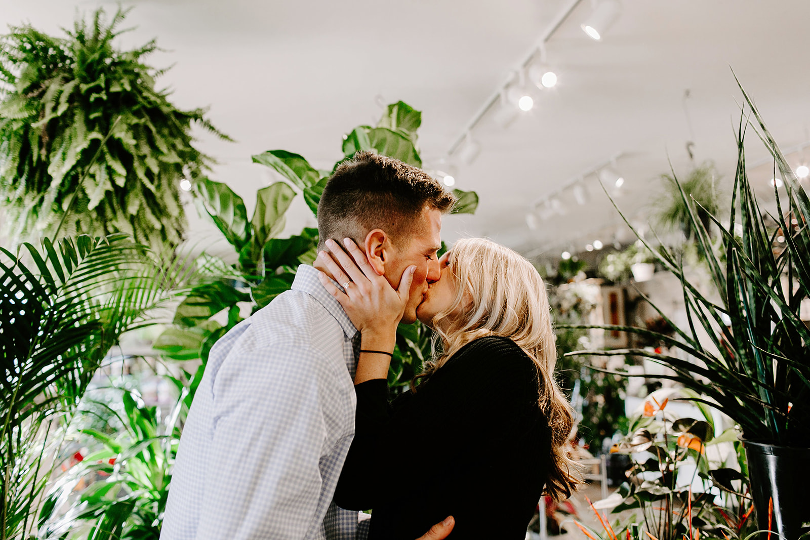 Lindy and JT Proposal at Allisonville Nursery in Indianapolis Indiana by Emily Elyse Wehner Photography LLC-72.jpg