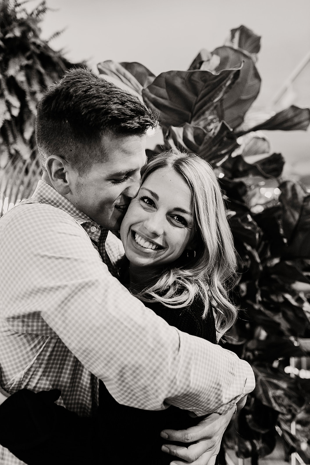 Lindy and JT Proposal at Allisonville Nursery in Indianapolis Indiana by Emily Elyse Wehner Photography LLC-89.jpg