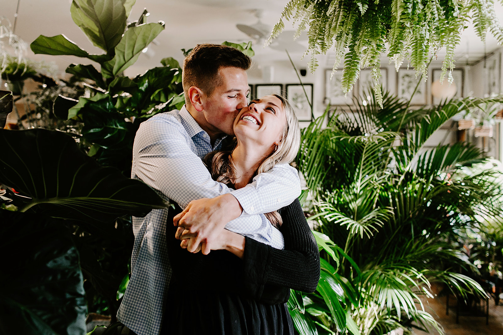 Lindy and JT Proposal at Allisonville Nursery in Indianapolis Indiana by Emily Elyse Wehner Photography LLC-101.jpg
