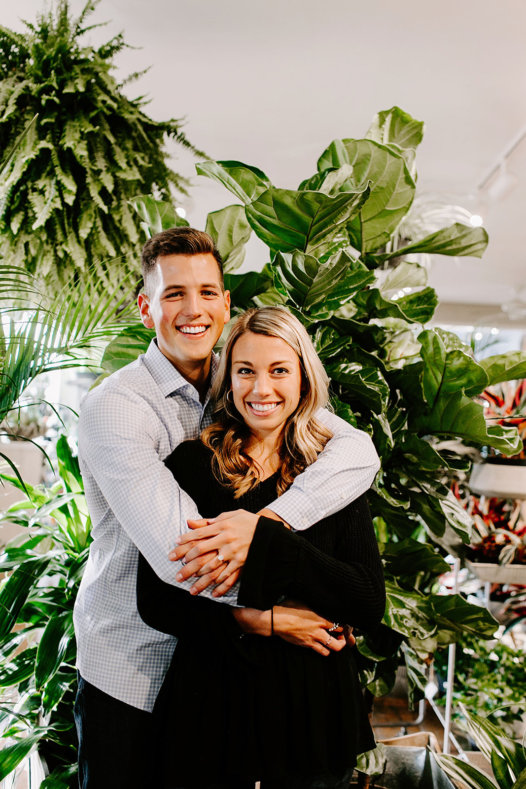 Lindy and JT Proposal at Allisonville Nursery in Indianapolis Indiana by Emily Elyse Wehner Photography LLC-119.jpg