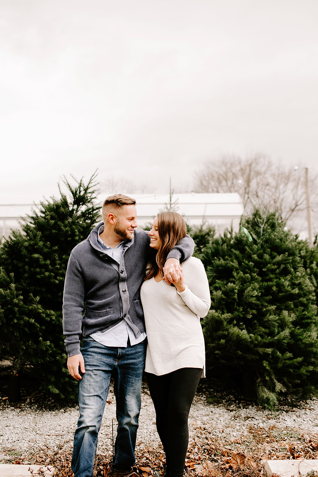 Holly and Michael Engagement Session in Noblesville Indiana by Emily Elyse Wehner Photography LLC-38.jpg