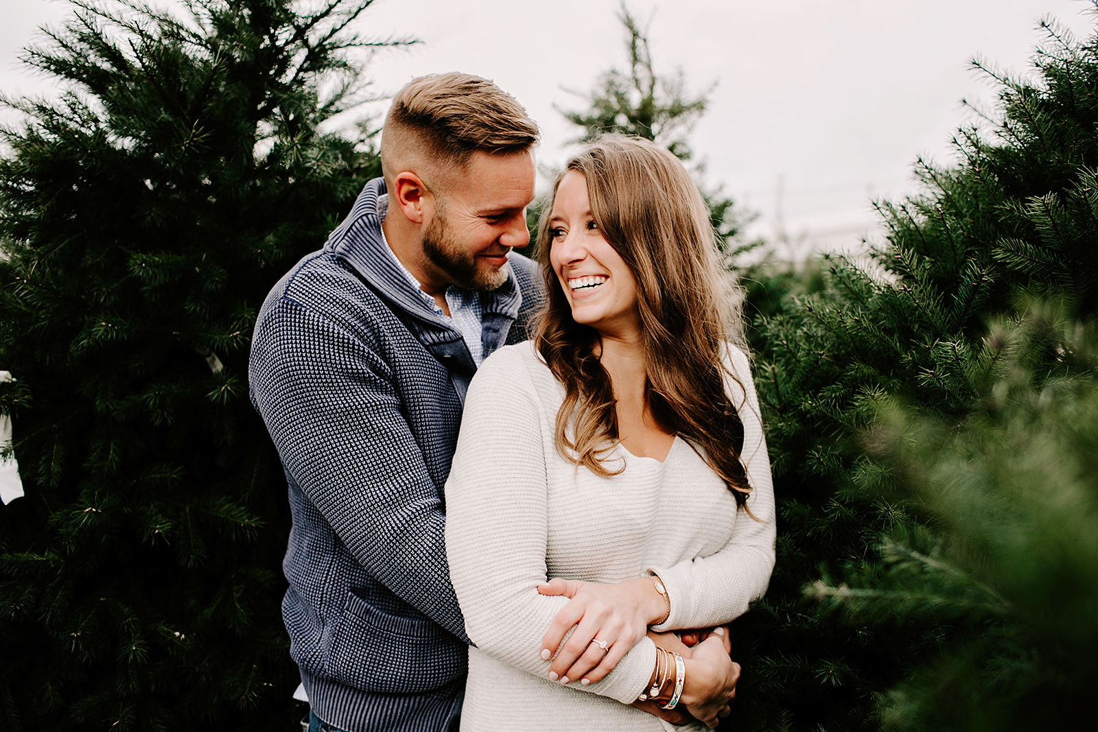 Holly and Michael Engagement Session in Noblesville Indiana by Emily Elyse Wehner Photography LLC-50.jpg
