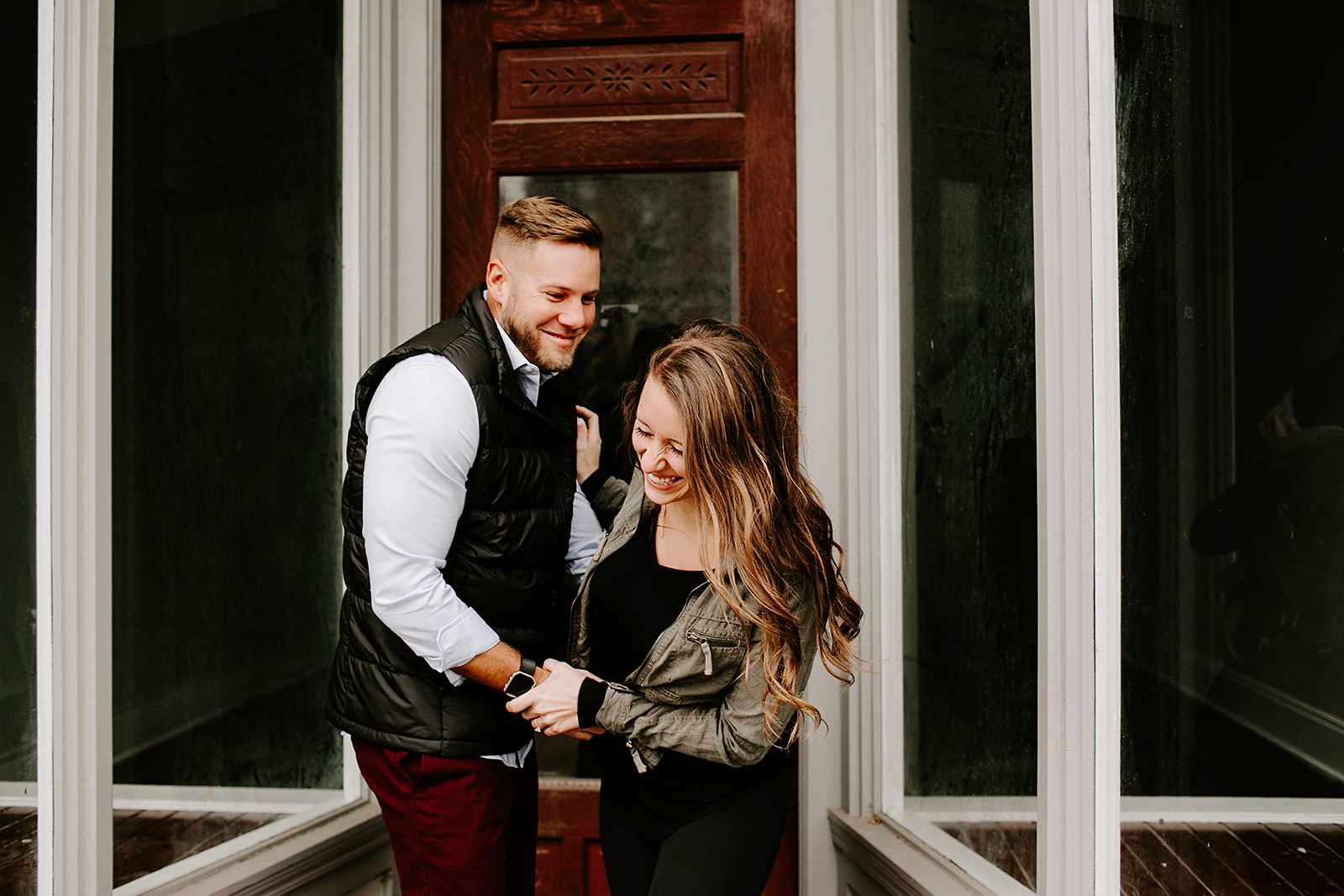 Holly and Michael Engagement Session in Noblesville Indiana by Emily Elyse Wehner Photography LLC-139.jpg