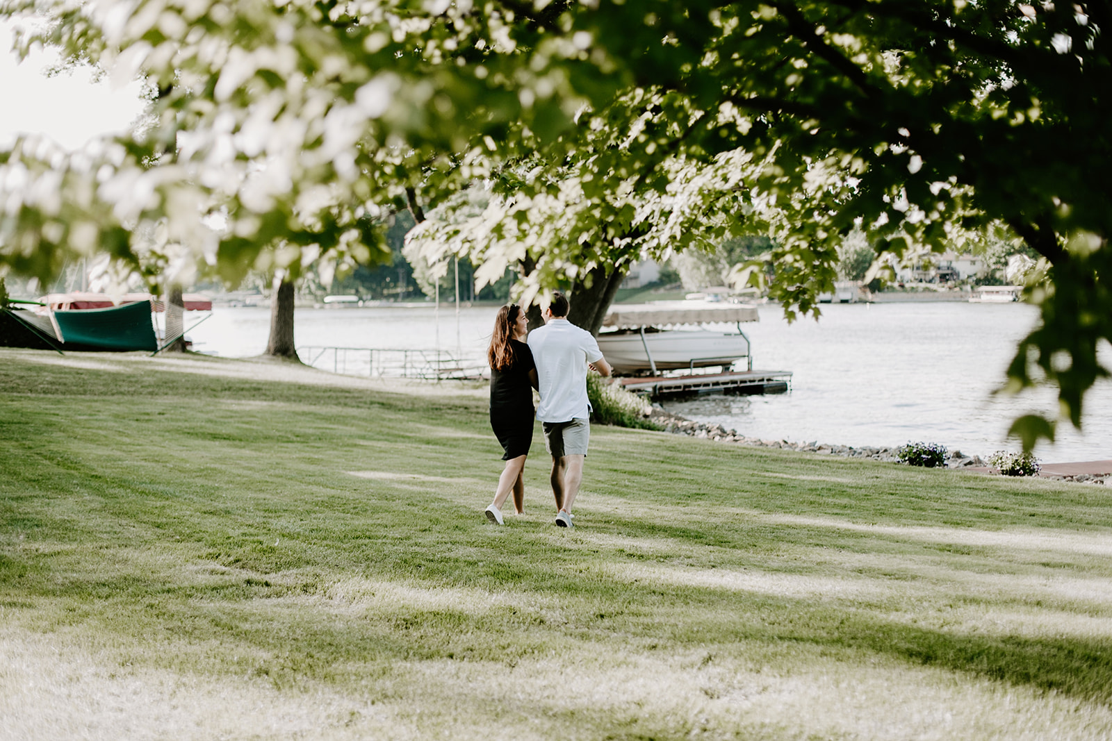Hannah and Taylor Engagement Morse Resevoir Noblesville Indiana Emily Elyse Wehner Photography-21.jpg