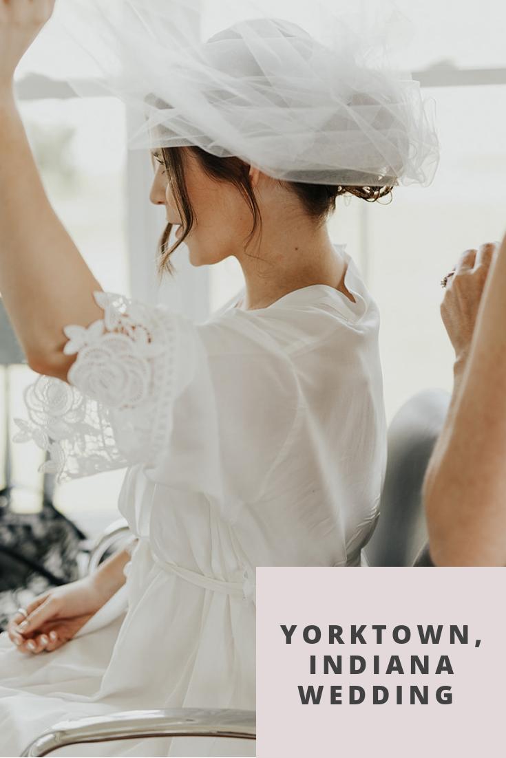 Yorktown, Indiana Wedding by Emily Elyse Wehner, Indiana wedding photographer