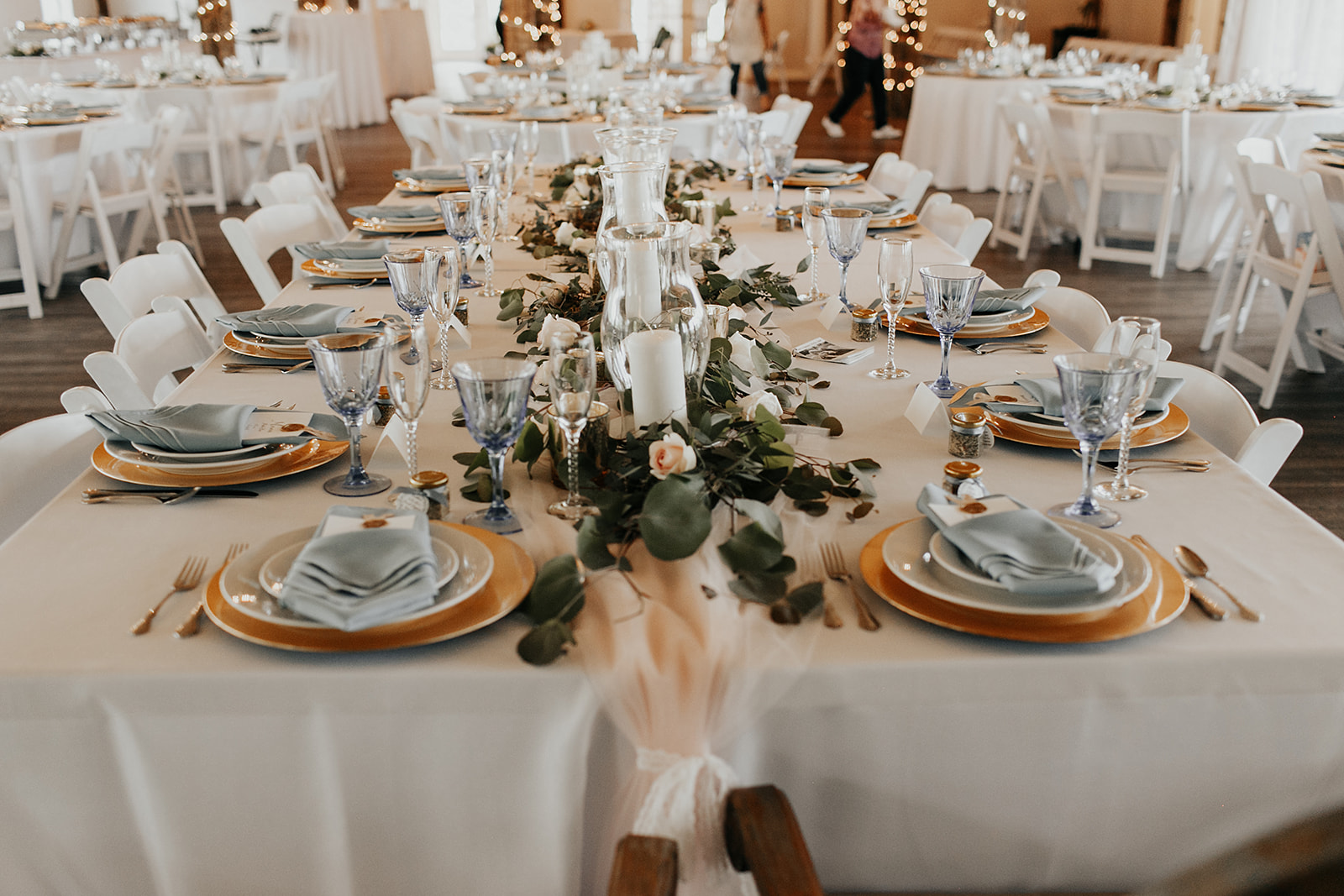 wedding details and table decor