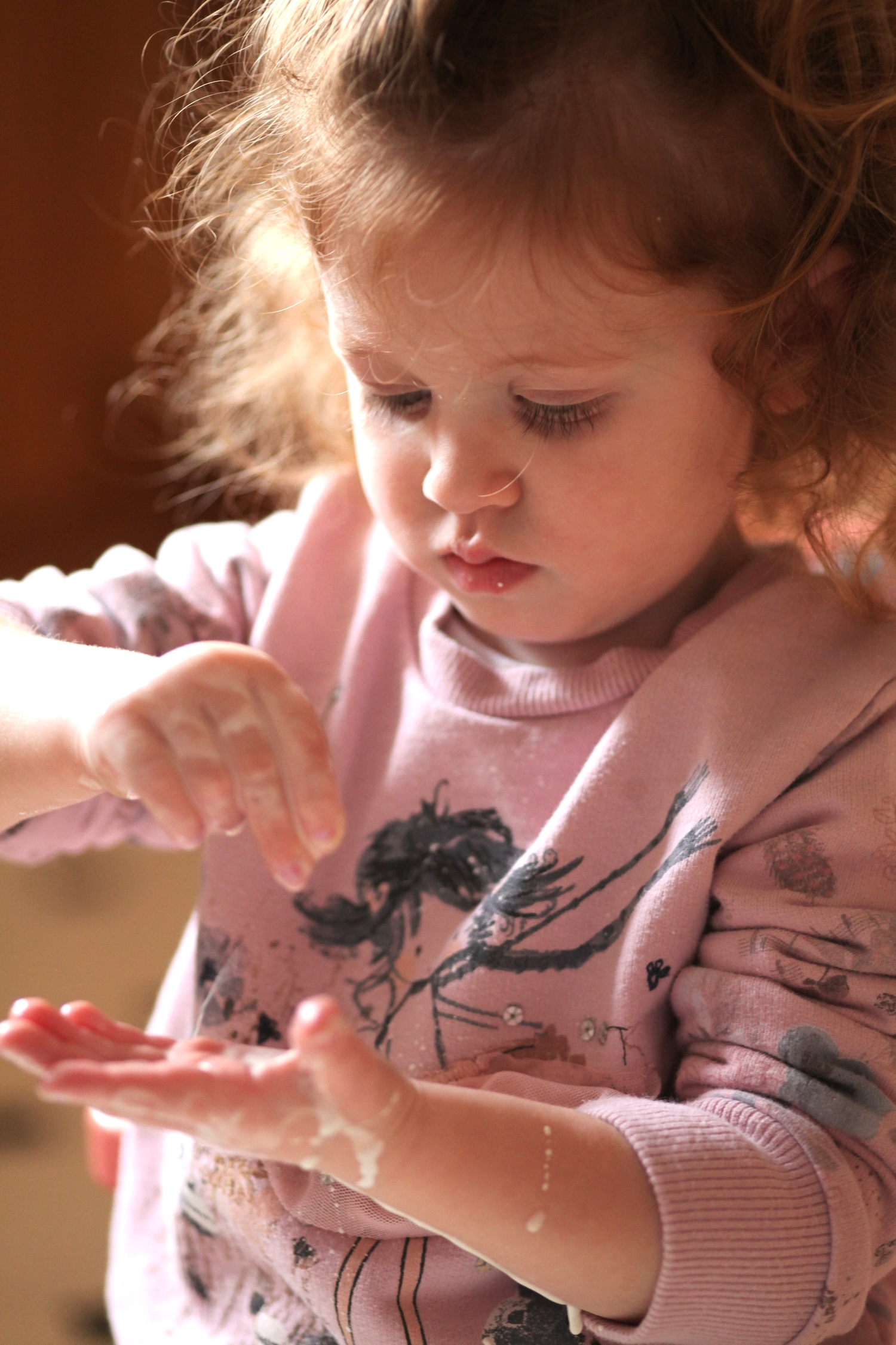 Taking a moment in time: sensory play