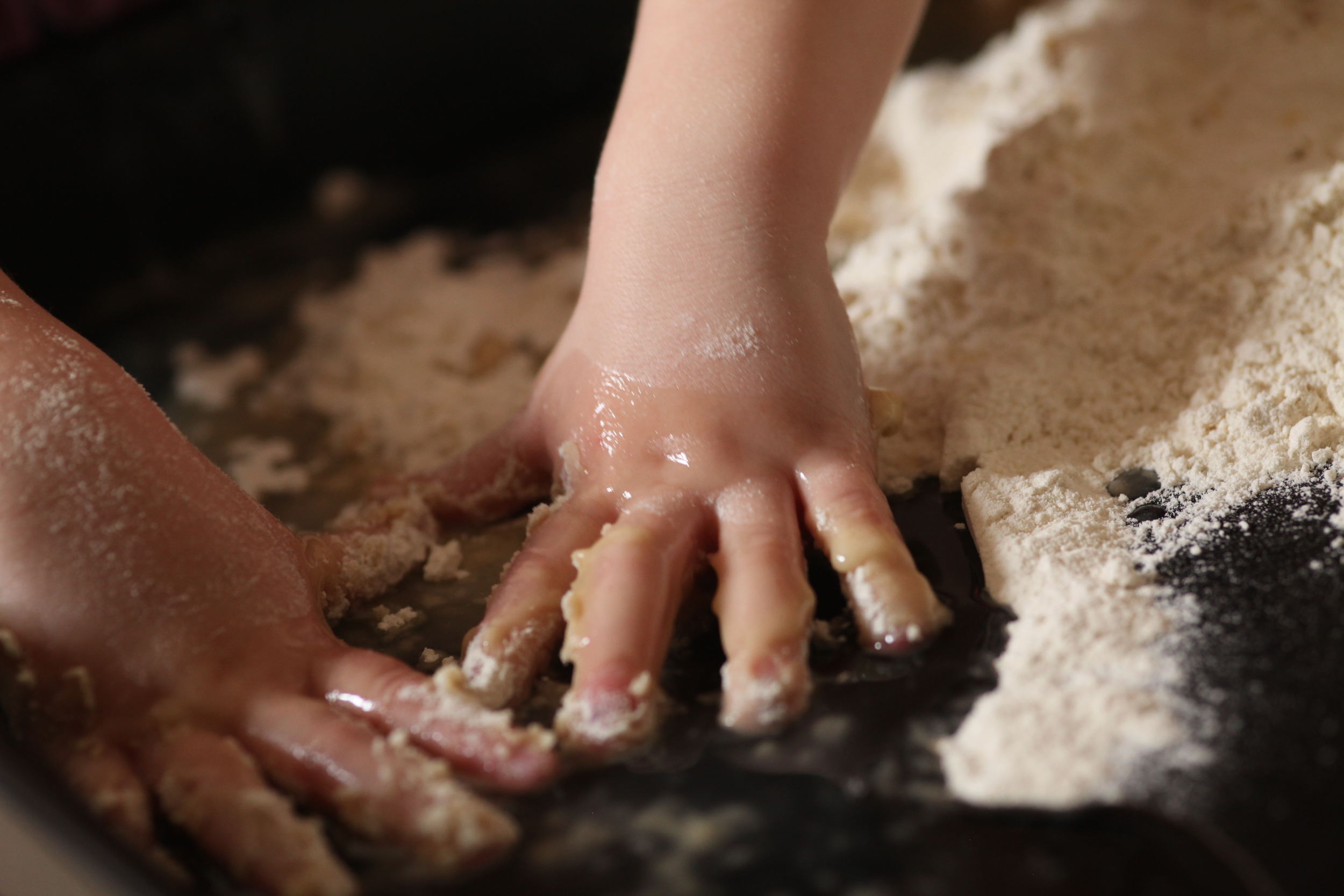 Sensory Play Friday: Cloud Dough