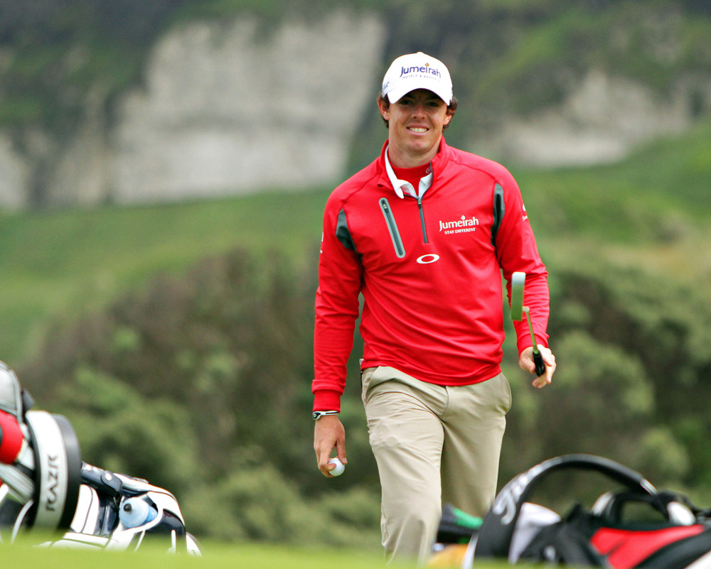 Rory McIlroy at Irish Open Royal Portrush Golf Club