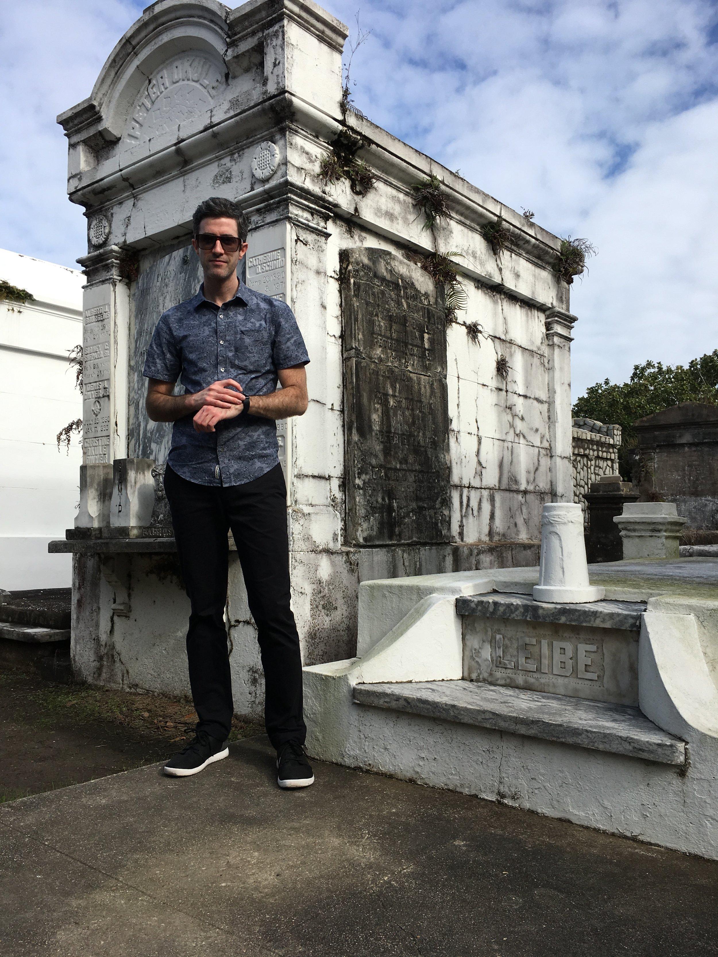 #applewatchselfie: Lafayette Cemetery No. 1