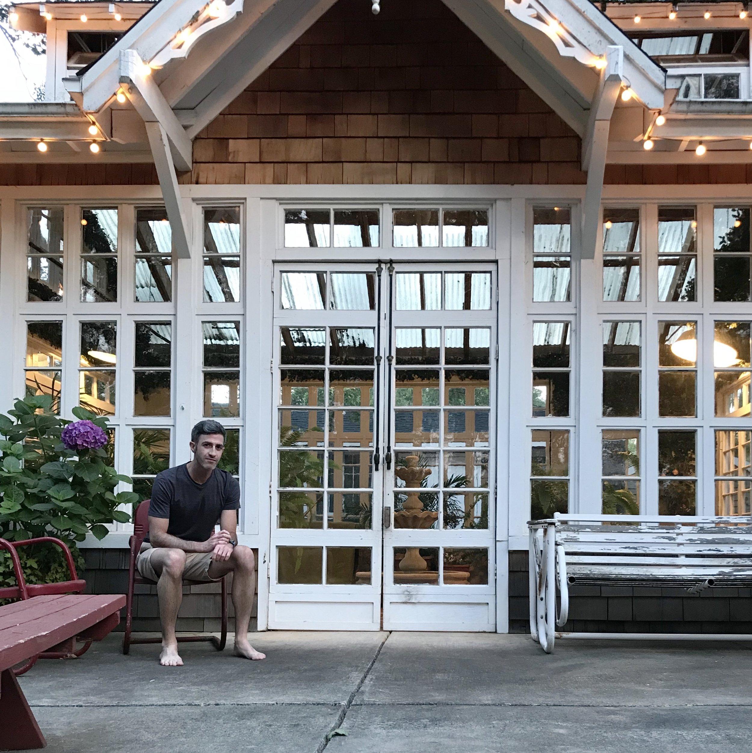#applewatchselfie: Airbnb Conservatory