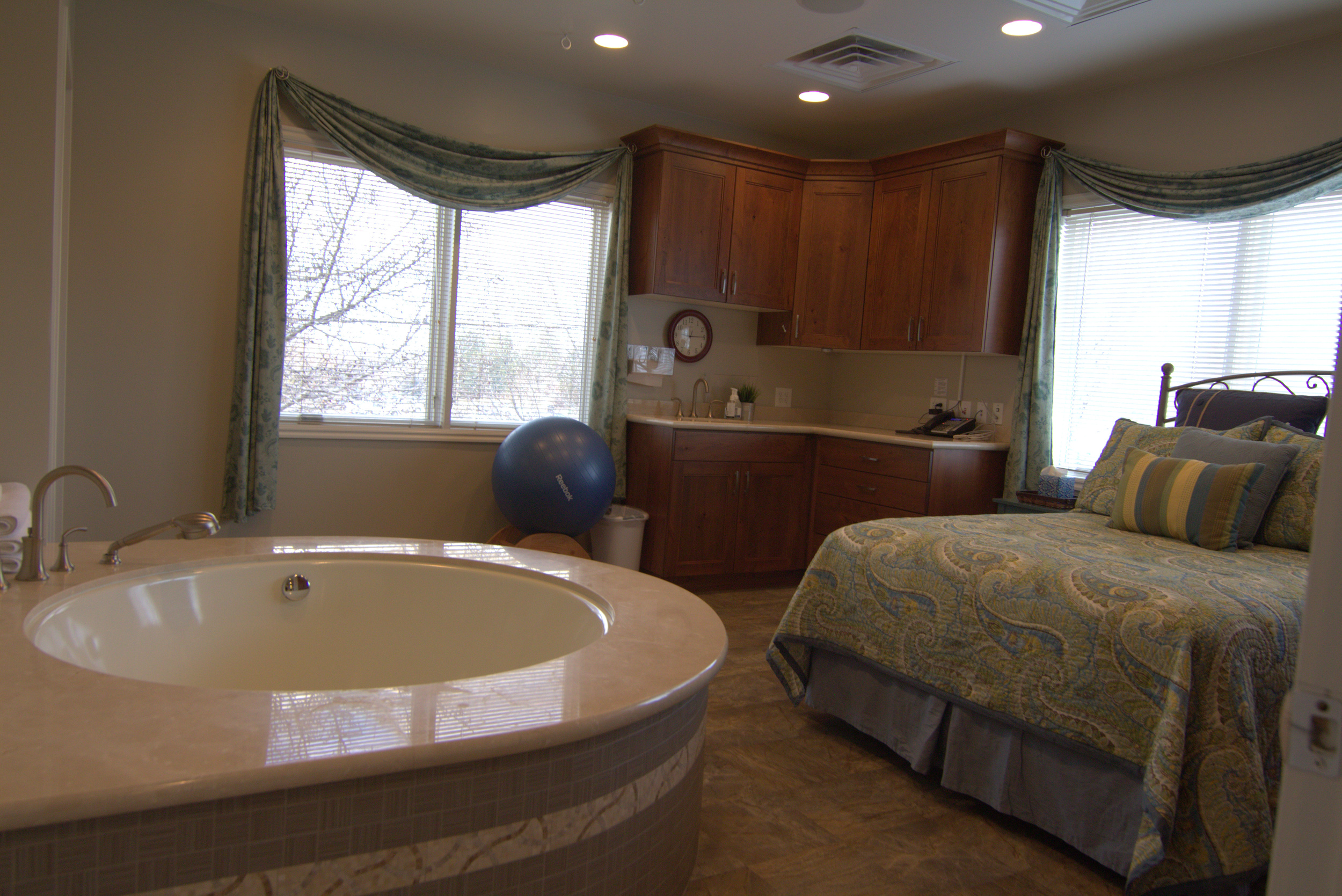 The Birth Center room suite Utah