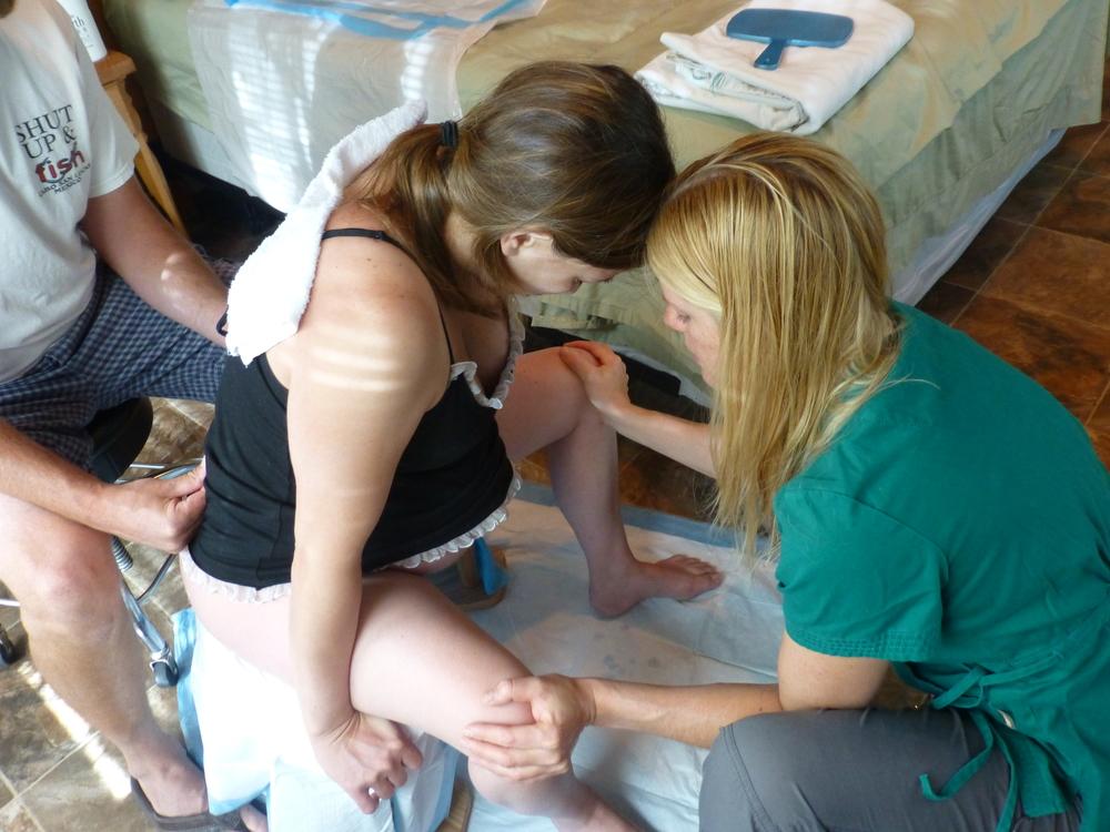 Utah midwife birth stool center