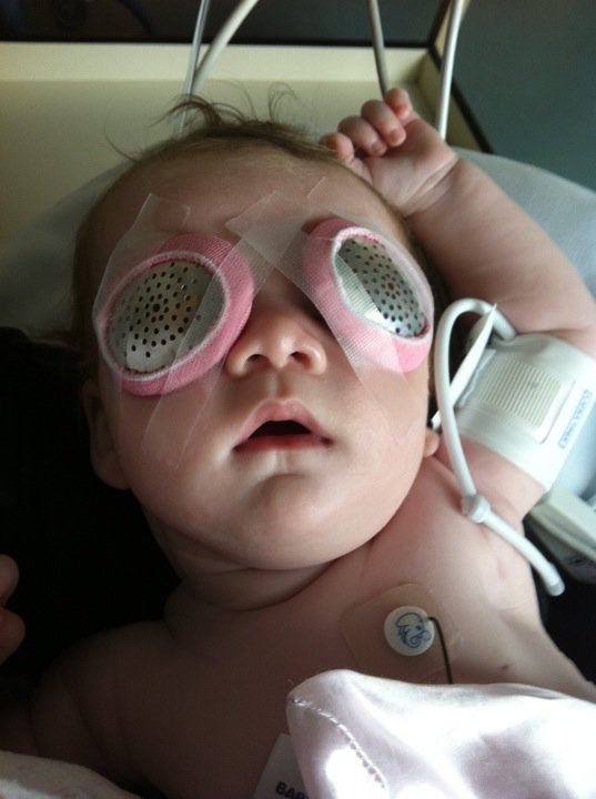 Surgery is scary, but it's probably the best gift a child with sight impairment can be given.