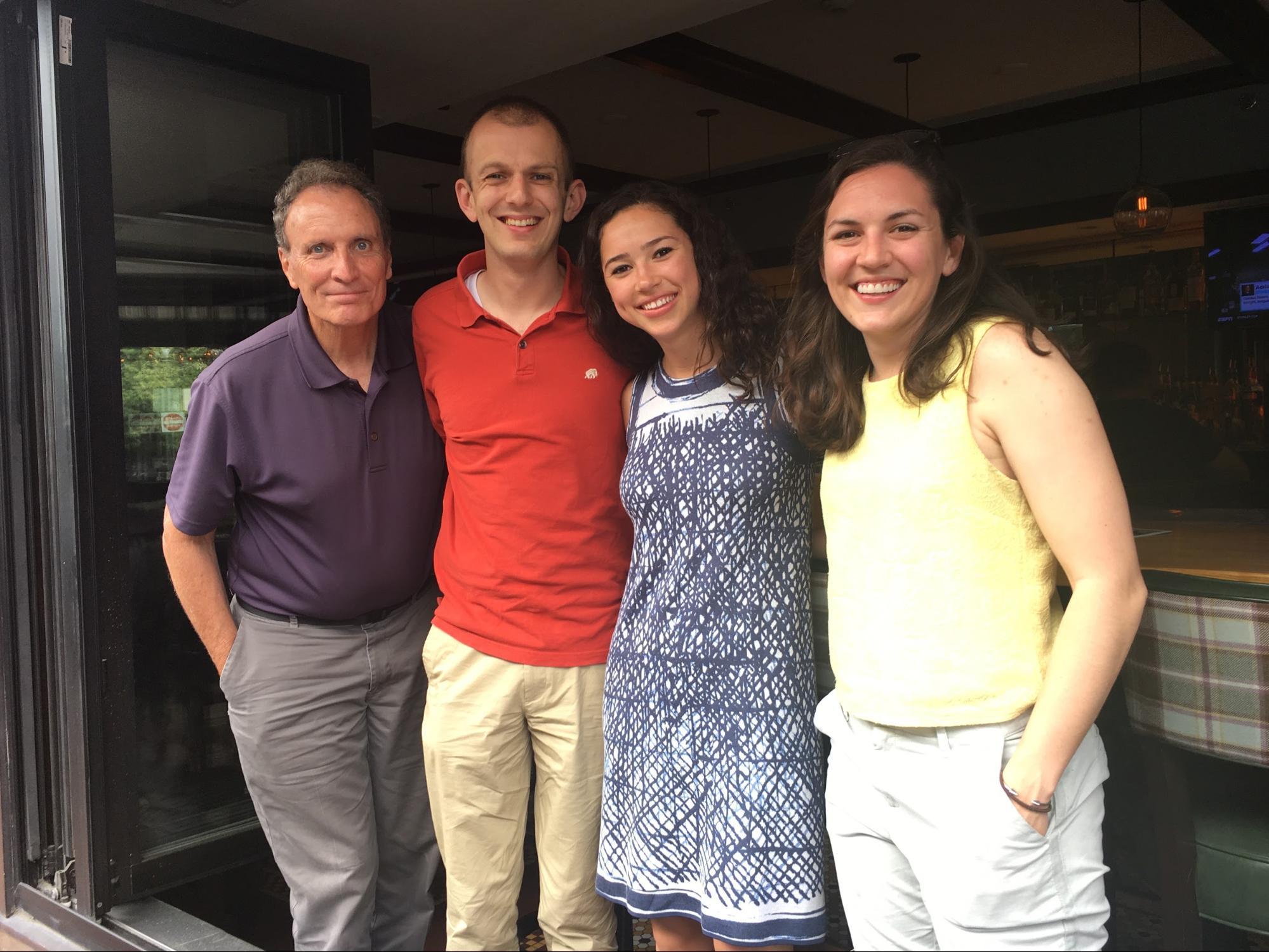 Nick Ascienzo (Founder), Alex Parks (RHHS '06), Kyla Gabriel (RHHS '13), & Betsy Kirtland (RHHS '12)