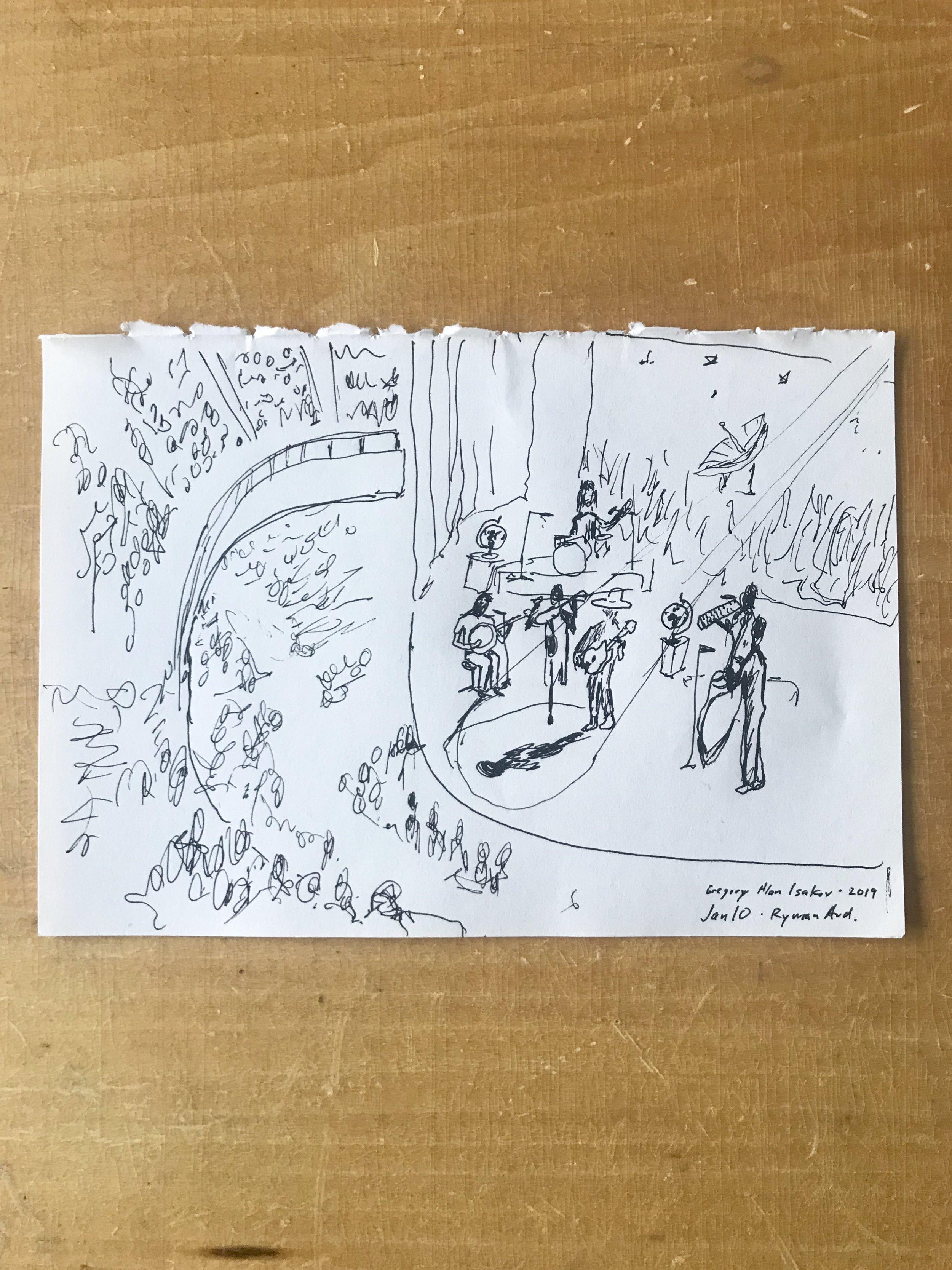 Ryman Sketch
