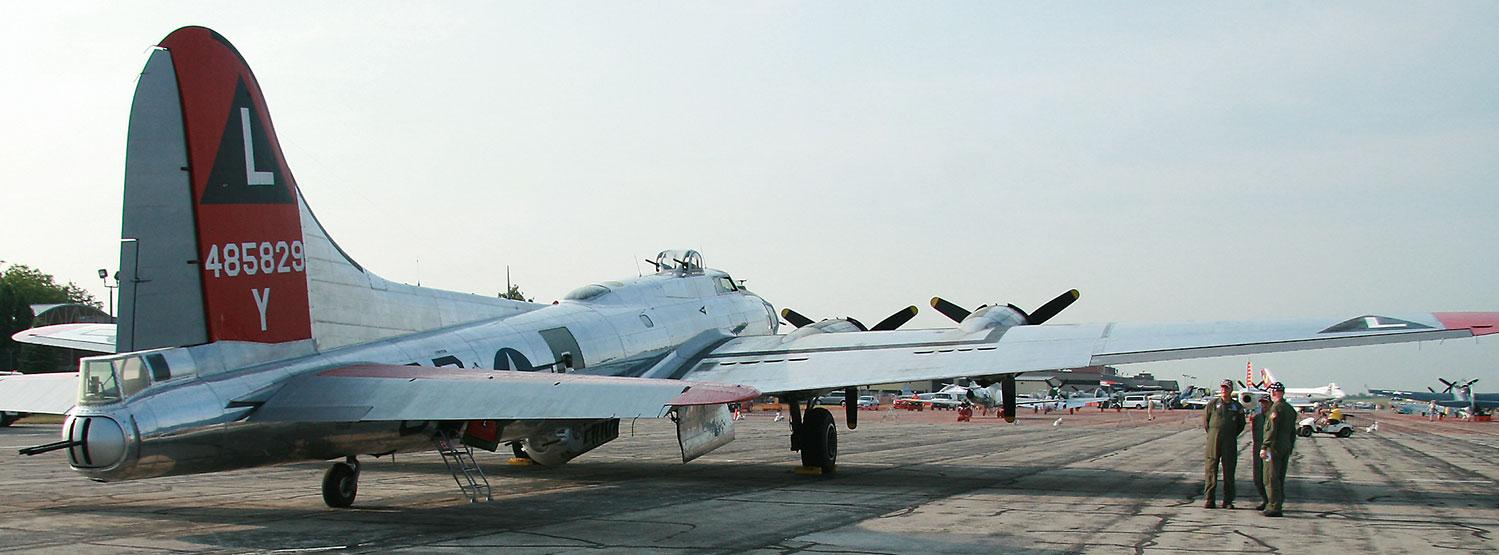 The Yankee Lady B-17