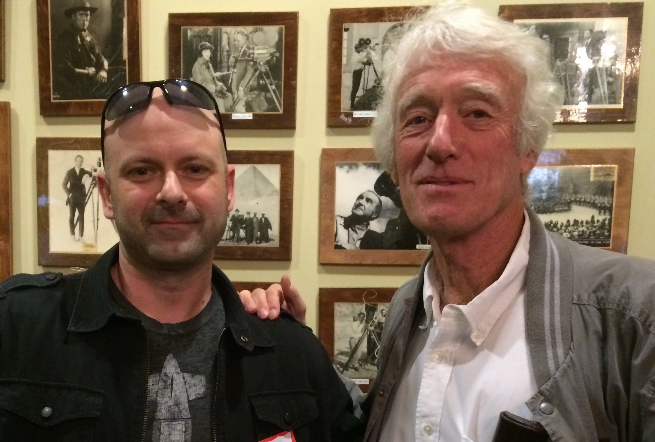 Brant Hadfield (left), Roger Deakins, ASC, BSC (right)
