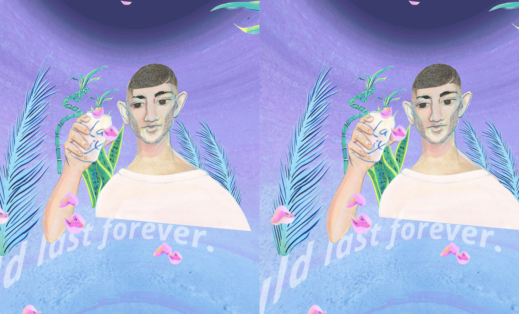 Martha Hipley, Ur Cardboard Pet, 2016 (2D still from the VR experience)