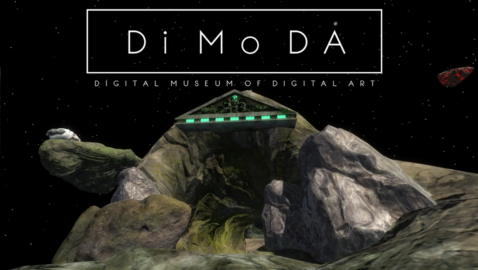 The Digital Museum of Digital Art by Alfredo Salazar-Caro and William Robertson, © the artists, courtesy of the artists and PRISKA PASQUER, Cologne
