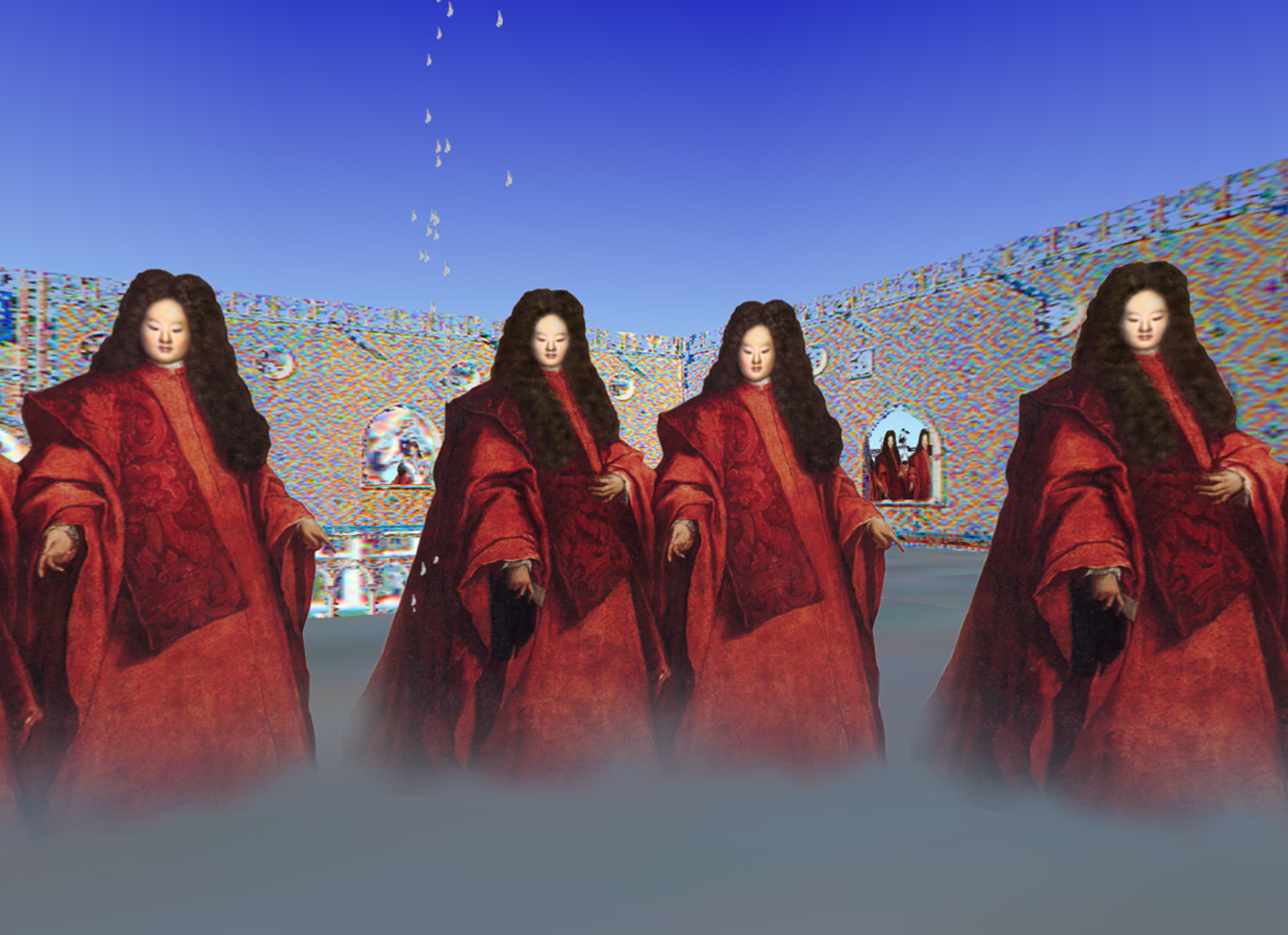 TamikoThiel,Avogadori in the Opal Palace, from:The Travels of Mariko Horo