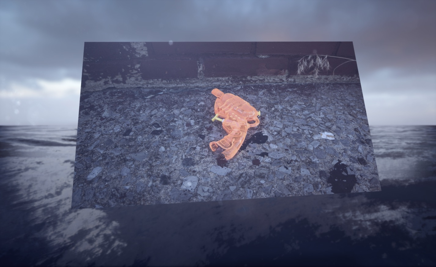 Jakob Kudsk Steensen (DK/US) Aquaphobia, 2017, virtual reality installation