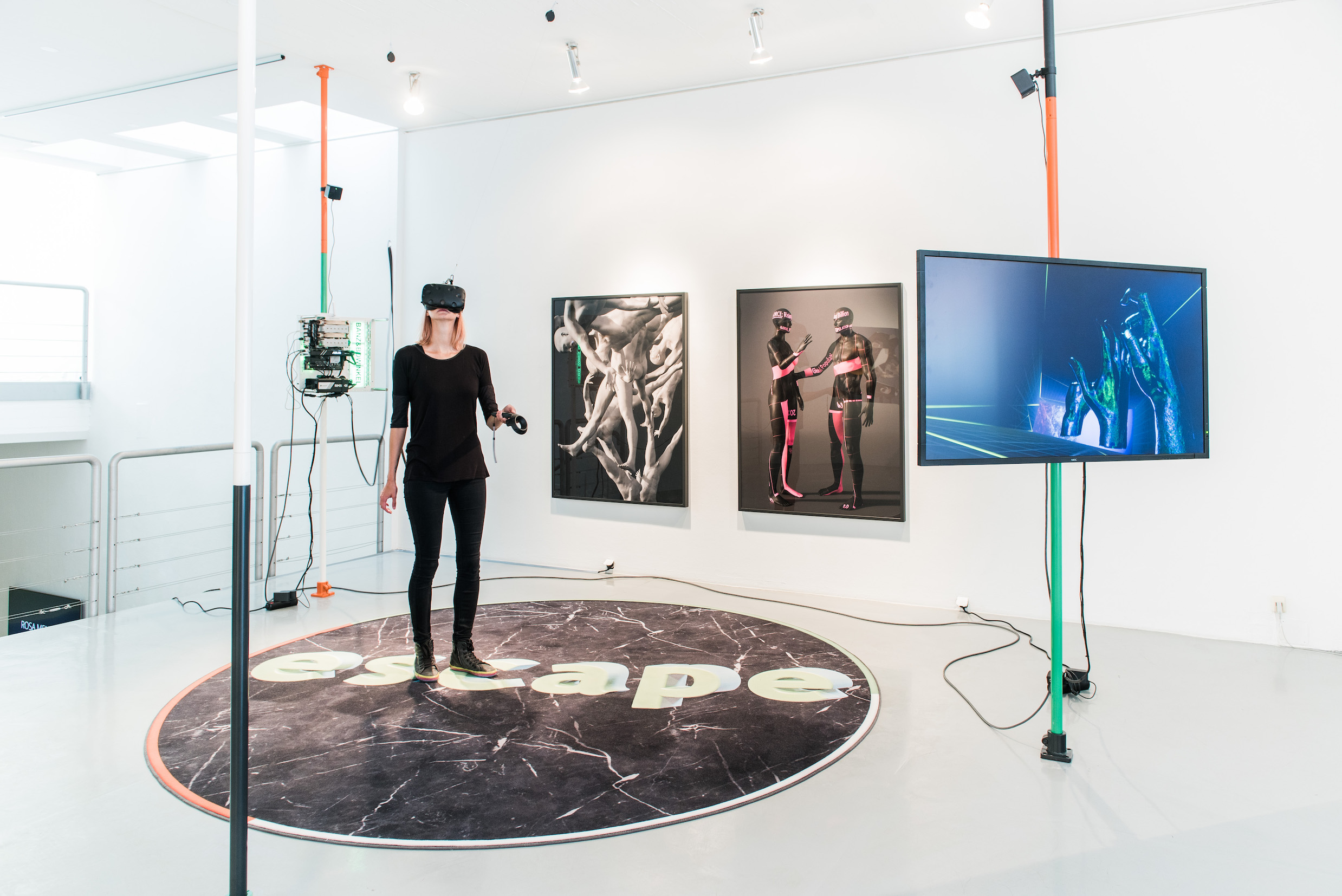 Exhibition view RESET III AND VIRTUAL REALITY, photo by Nathan Ishar, installation by Banz & Bowinkel
