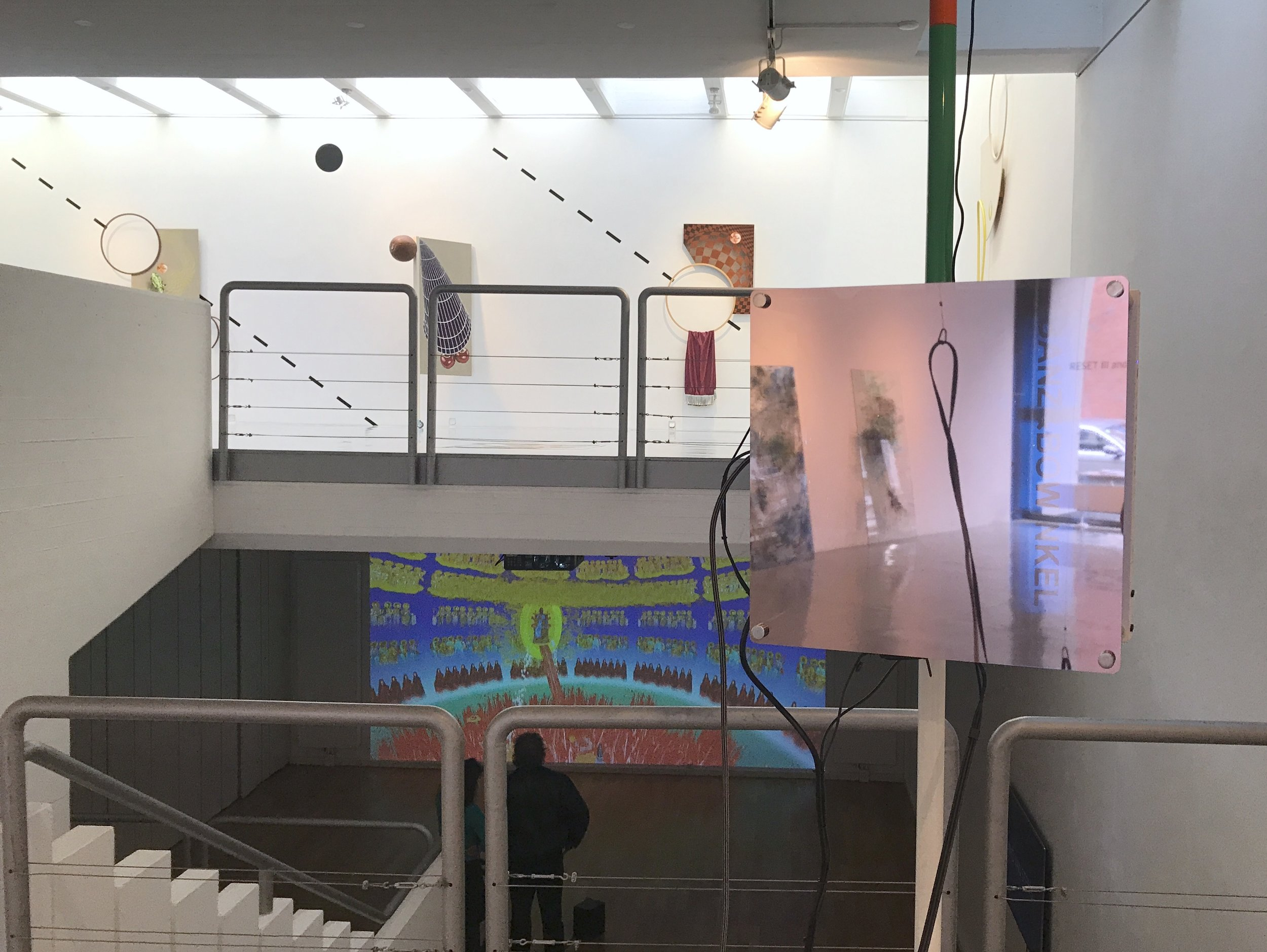 Exhibition view RESET III AND VIRTUAL REALITY