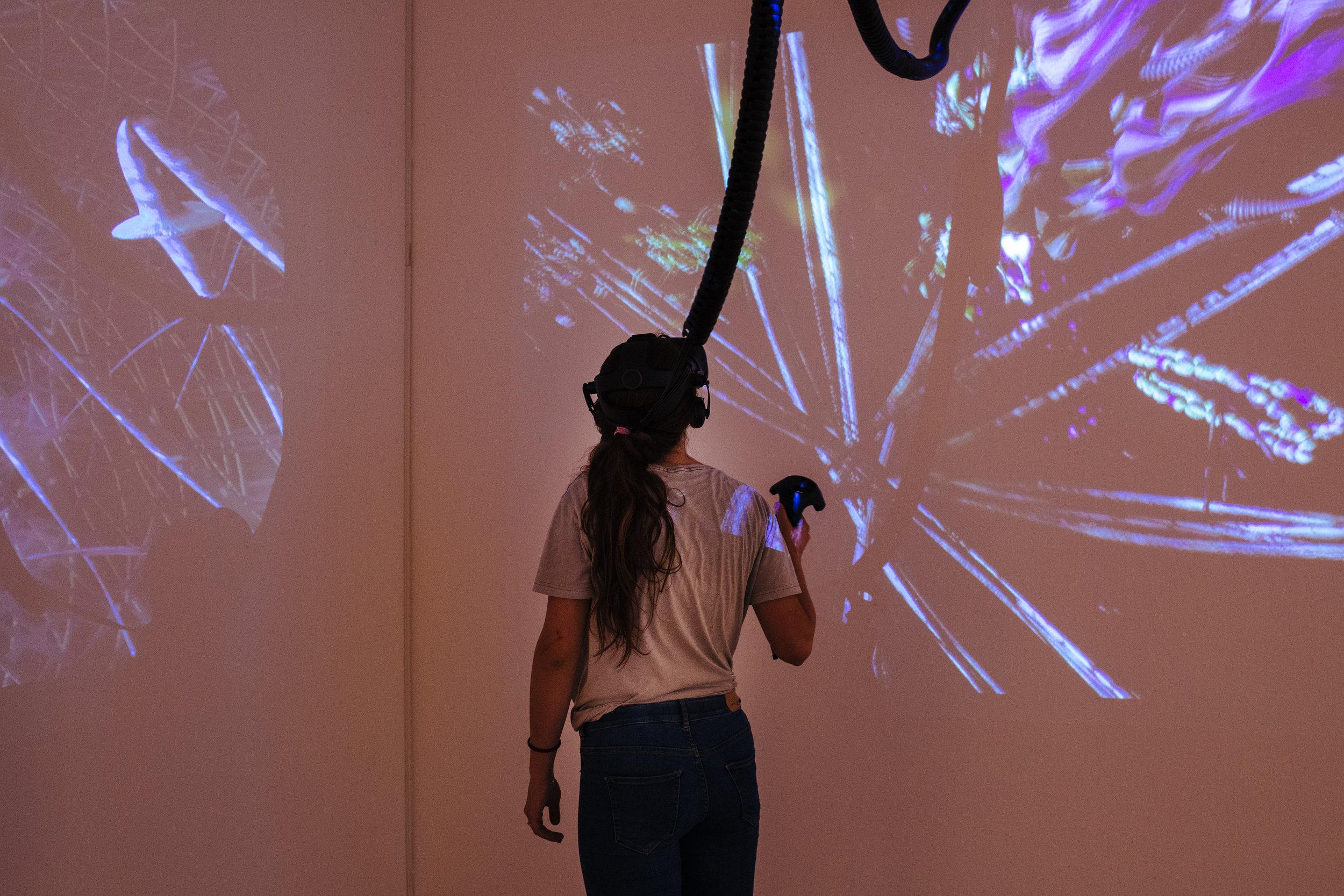 Exhibition view: PENDORAN VINCI, installation by William Latham, photo © NRW-Forum Düsseldorf / Bozica Babic